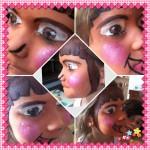 schmink voorbeeld Dora