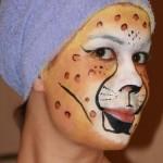 schminken gezicht