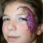 kinderfeestje,almere,kinder,feestje,schminken bloem Kidsplayground Almere
